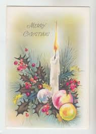 57 best vintage christmas cards w candles images on