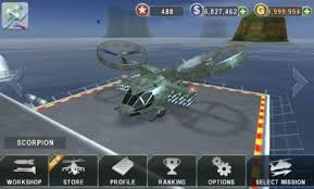 gunship 3d apk gunship battle helicopter 3d unlimited money