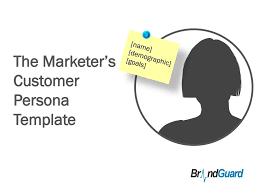name demographic goals the marketer u0027s customer persona
