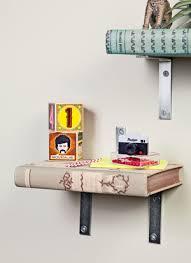 diy turn books into a bookshelf the green