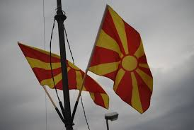 Macedonian Flag Welcome To Macedonia And Monastery Of St Joakim Joachim Osogovski