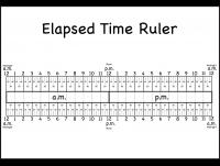 level 3 u2013 elapsed time ruler u2013 two worksheets free printable