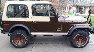 jeep j10 golden eagle 1979 original jeep cj7 golden eagle 304 v8 4 speed levi package