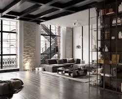 tidy interior office modern loft design furniture penaime