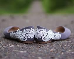 grey bridesmaid shoes walkin on air by walkinonair on etsy