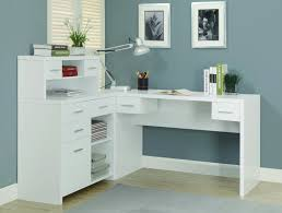 home design modern wooden l shaped desk room designs remodel and