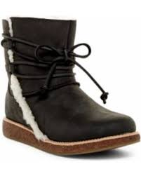 ugg emalie waterproof leather bootie nordstrom rack deal on ugg australia luisa uggpure tm boot at nordstrom rack