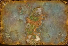 World Of Warcraft Map by World Of Warcraft Composites Kalimdor By Digitalutopia On Deviantart