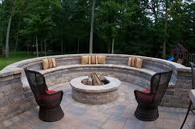 cinder block fire pit u2013 diy fire pit ideas for your backyard