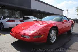 1996 corvette wheels 1996 used chevrolet corvette 2dr convertible at motorworks