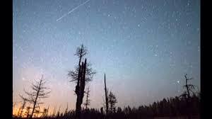 annual lyrid meteor shower lights up night sky nbc news