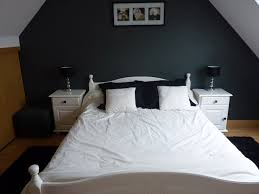 chambre noir et blanc design chambre moderne noir et blanc