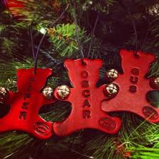 hand made leather christmas ornaments river ridge pinterest