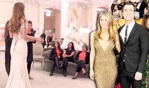is this jennifer aniston u0027s wedding dress tv u0026 radio showbiz