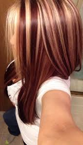 highlights and lowlights for light brown hair red brown hair with blonde highlights women medium haircut