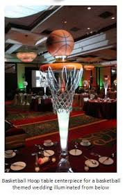 Basketball Centerpieces Basketball Weddings Words Of Willow