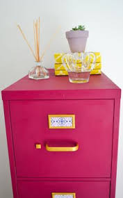 Pink Filing Cabinet Check Out Summer S New Painted File Cabinet Done With A Custom 1