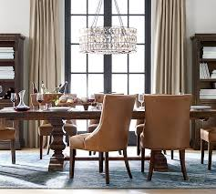 Dining Room Table Chandeliers Adeline Crystal Chandelier Pottery Barn