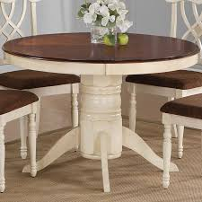 solid wood pedestal kitchen table dining room astonishing cherry dining table with leaves cherry