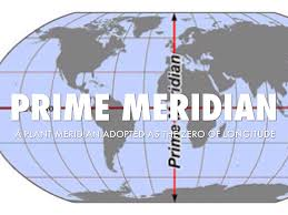 Prime Meridian Map Map Skills Vocabulary By Ashley Adams