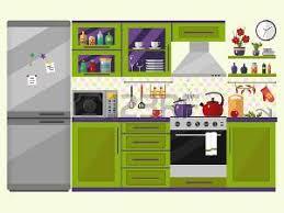 cuisine dessin animé dessin animé cuisine banque d images vecteurs et illustrations