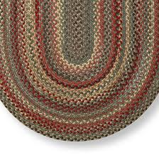 Stroud Rugs Rose Moss Capel Ll Bean U0027s Braided Wool Rug Oval Indoor Rugs At