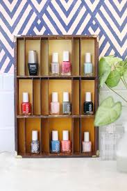 try this type tray nail polish display u2013 a beautiful mess