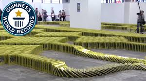 book dominoes guinness world records 2016 youtube