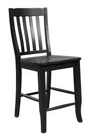quail run rake back wood counter stool dqt145224 dining chairs