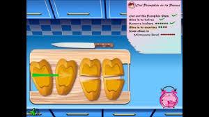 halloween pumpkin pie gameplay for great fun girls games cooking