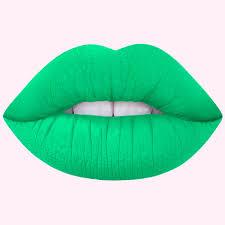 lime alien neon green lipstick lime crime