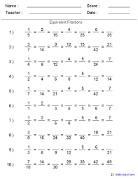 printable math worksheets fractions fractions worksheets printable fractions worksheets for teachers