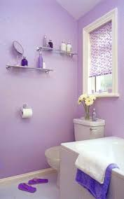 Wallpaper For Bathroom Ideas by Purple Bathroom Wallpaper Trendy Accessories Awesome Purple Color