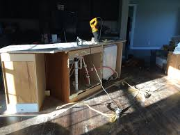 Old Kitchen Island by New Kitchen Island And Flooring Roses And Wrenches