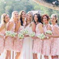 chagne bridesmaid dresses fashion new 2015 lace bridesmaid dresses knee length
