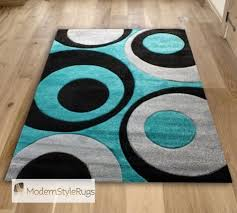Black Grey And White Area Rugs The Most Brilliant Teal And White Area Rug Regarding Household