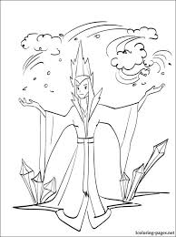 snow princess coloring pages coloring