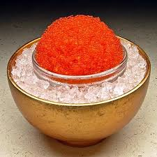 Earthy Orange Flying Fish Roe Orange From Earthy Delights