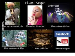Flute Player Meme - flute player jethro tull hat my friends think i do who society