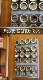 Diy Magnetic Spice Rack 20 Borderline Genius Diy Projects Featuring Magnets Brilliant