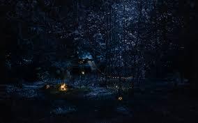 halloween phtoshop background spooky forest wallpaper wallpapersafari