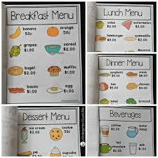 sle menu design templates daycare menu template