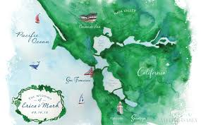 Map From San Francisco To Napa Valley by Napa Valley Vineyard Wedding Invitation On Behance