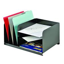 Oak Desk Organizer by Amazon Com Mmf Industries Letter Size Steel Vertical Horizontal
