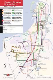 Evcc Campus Map Everett Transit Kicks Off Long Range Planning Process The Urbanist