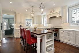 kitchen center islands kitchen island with stools sits in the center of the large kitchen