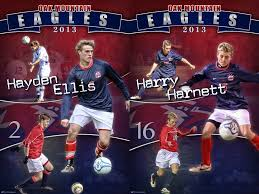 high school senior sports banners we were honored to be able to create custom soccer banners for the