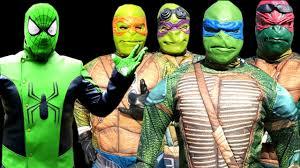 spiderman teenage mutant ninja turtles tmnt superhero