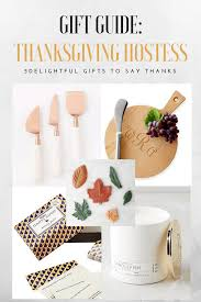 say thanks with the thanksgiving hostess gifts guide