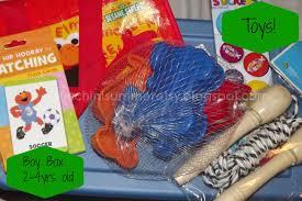 zucchini summer joy in a shoebox operation christmas child boy